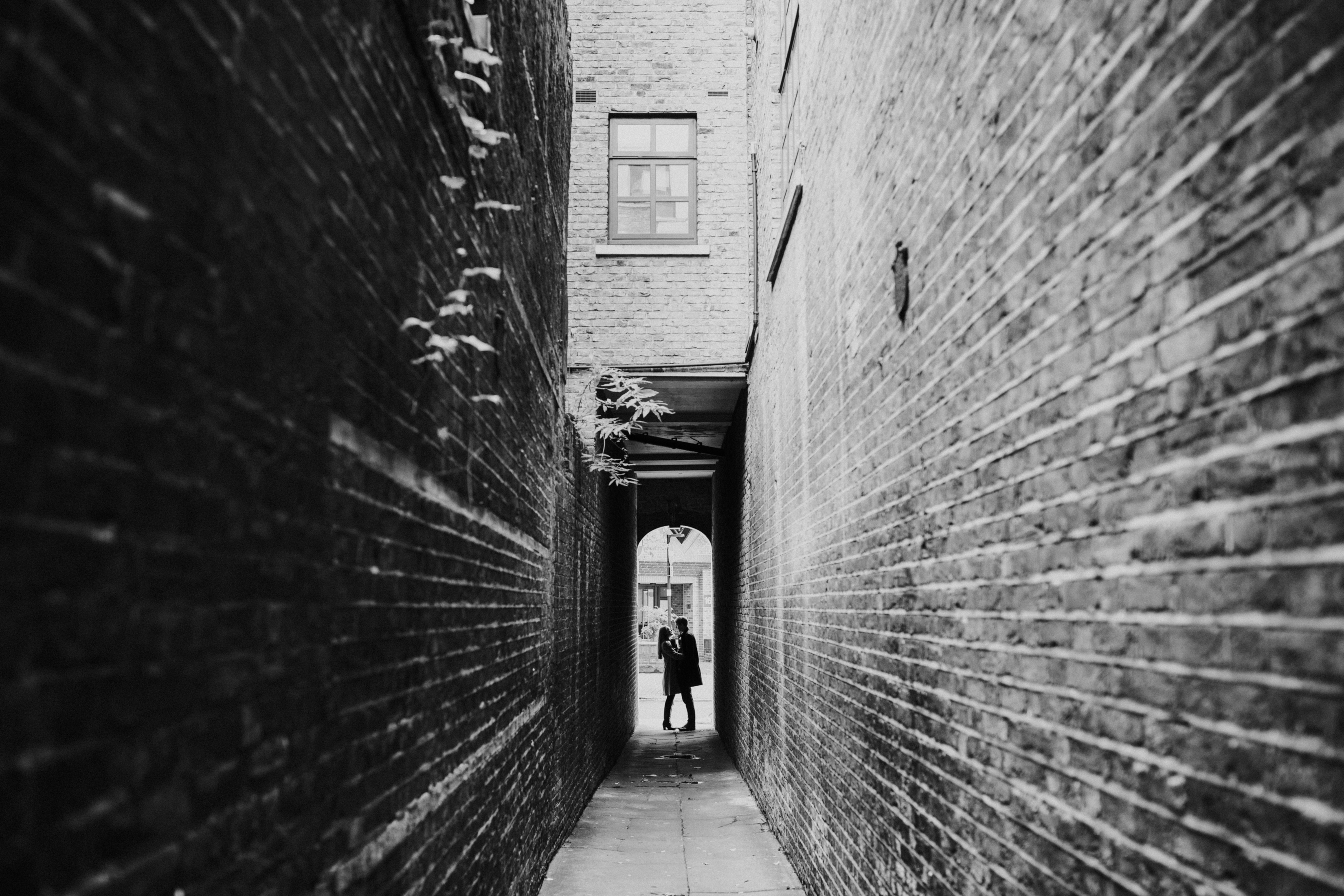 Clerkenwell engagement shoot
